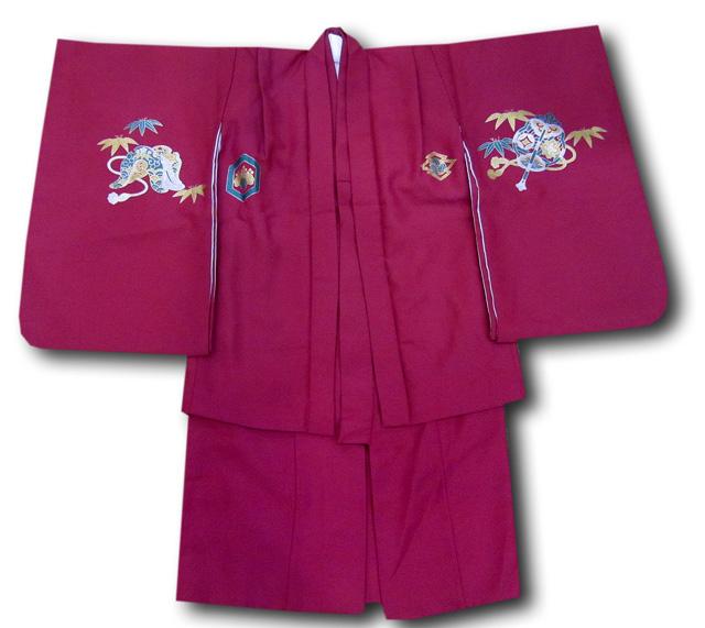 【七五三】5歳男の子着物羽織セット