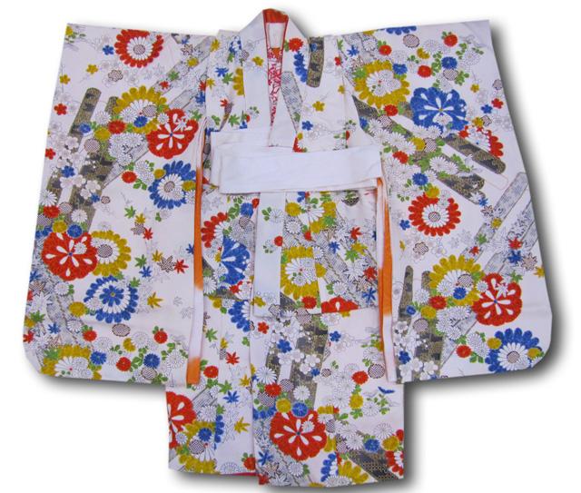 【七五三】3歳女の子着物長襦袢セット